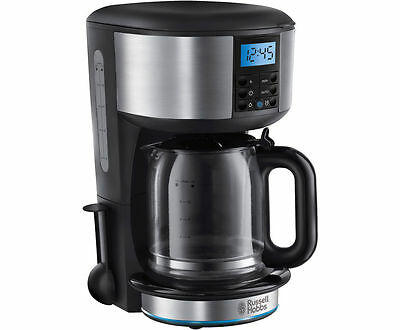 Russell Hobbs 20680 Buckingham Filter Coffee Machine with Timer Black