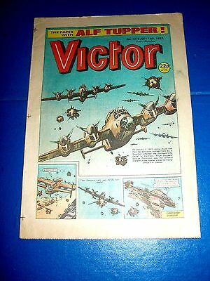 Lancaster Bombers Attack Dortmund Ww2 Cover  In  Victor Comic 1987