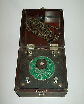 Old antique vtg 1910s Medical Device F Geiger Cautery Transformer Very Nice