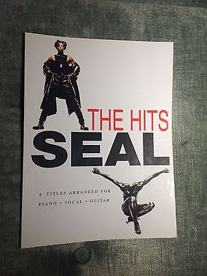 Seal the hits best of score partition chant piano accords