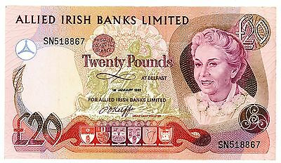 Northern Ireland ... P-4a ... 20 Pounds ... 1982 ... CH*VF*