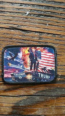 Trump, Victory Morale Patch, Tactical Hook And Loop, President, Election, Pride