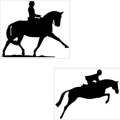 Equestrian Decal- Jumper Or Dressage