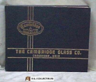 Vintage The Cambridge Glass Co. 1930 - 1934 Ohio Catalog
