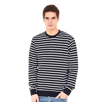 Les Deux - Maritime Sweater Navy / White Pullover Rundhals