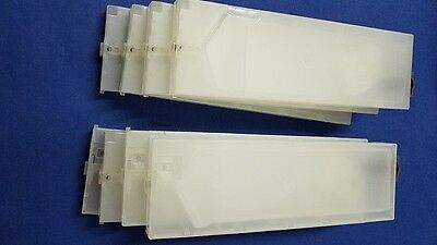 Refillable cartridge Vertical for Roland for Bulk inks Lot of 8 pcs