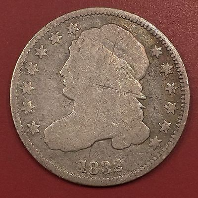 1832 Capped Bust Dime - Stars Obverse