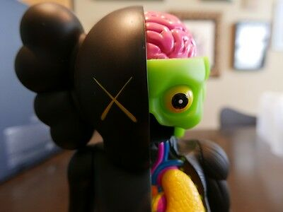 Kaws Resting Place Black Dissected - Original Fake -Authentic!