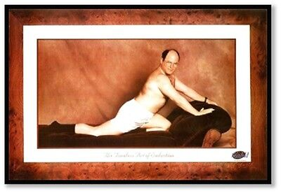 (FRAMED) GEORGE TIMELESS ART OF SEDUCTION POSTER (91x61cm) SEINFELD PICTURE