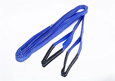 5T Tow Strap Double layer Heavy Duty Tow Rope Towing Pull Strap Recovery Winch