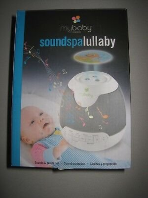 myBaby Soundspa Lullaby Sound Machine Projector / Portable / On-The-Go