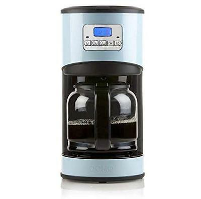 Domo DO478K 1.8L 12cups Black,Blue coffee maker - coffee makers (R7n)