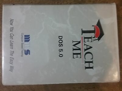 teach me windows dos 5.0 mms computer based training now you can learn the easy