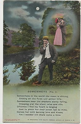 POSTCARD  SONG CARDS   Somewhere (1)