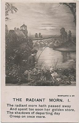 POSTCARD   SONG CARDS  The Radiant  Morn  (1)