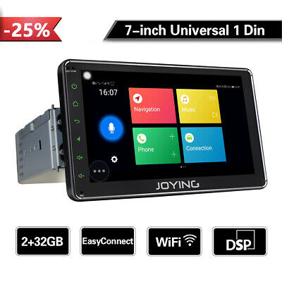 Joying PX5 HD 8 Inch Android 8.0 Car Auto Stereo Radio Single Din Bluetooth WiFi