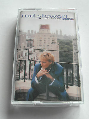 Rod Stewart - If We Fall In Love Tonight - Cassette, Used Very Good