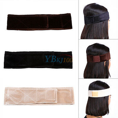 1 Pc Velours flexible bandeau bande de cheveux echarpe de perruque pur Sports DH