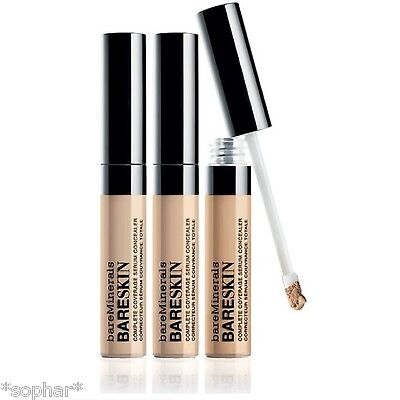 bareSkin Complete Coverage SERUM Concealer bare Minerals Fair/Light/Medium BNIB