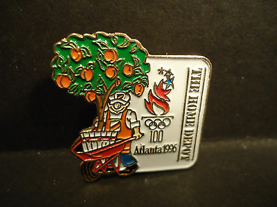 The Home Depot Atlanta Olympics 1996 Advertising Lapel Hat Pin