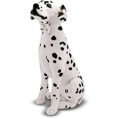 Melissa Doug Giant Dalmatian - Lifelike Stuffed Animal Dog (over 2 feet tall)