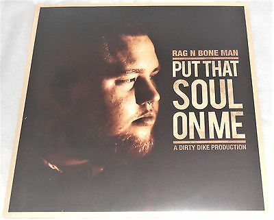 "Rag N Bone Man Put That Soul On Me White Limited 12"" New & Sealed"
