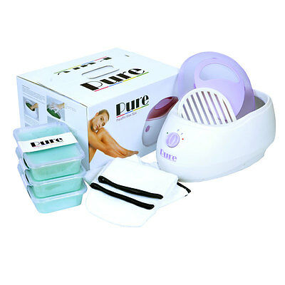 Pure Paraffin Wax Heater Spa Bath Tea Tree Kit - Free Delivery