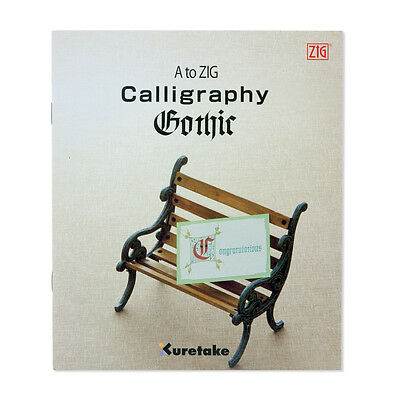 Zig A-ZIG Gothic Calligraphy Book  (Single)