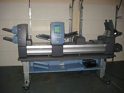 Pitney Bowes DI950 FastPac Document Envelope Inserting System - Very Low Meter!