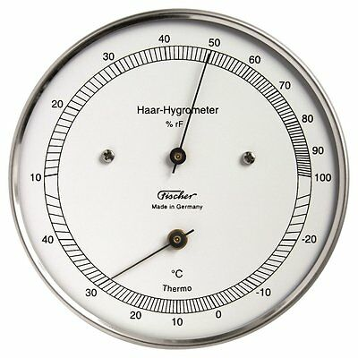 Haar-Hygrometer mit Thermometer Made in Germany