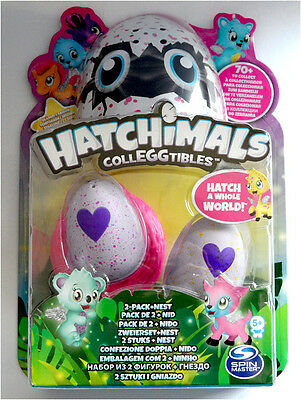 Spin Master  Hatchimals Colleggtibles 2er Pack + Nest NEU & OVP