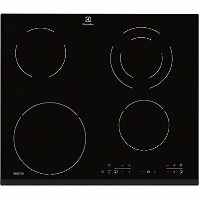 Electrolux EHG46341FK - hobs (built-in, Induction, Glass, Black, Touch, (H1w)