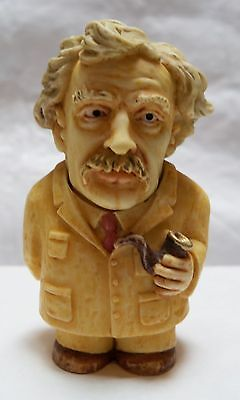 Mark Twain Pot Belly Great Artists Collectible