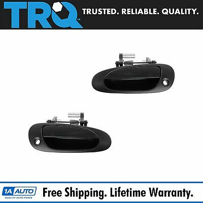 Front Exterior Outer Outside Door Handle Pair LF /& RF for 01-05 Honda Civic