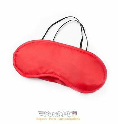 Red Sleep Mask Travel Eye Mask Eye shade Blackout Sleeping Mask