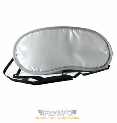 Grey Sleep Mask Travel Eye Mask Eye shade Blackout Sleeping Mask