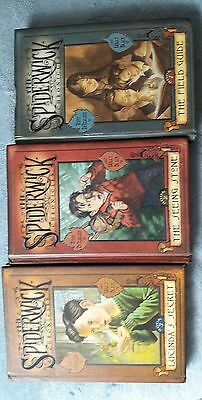 The Spiderwick Chronicles by Tony DiTerlizzi and Holly Black Books 1-3 VGC