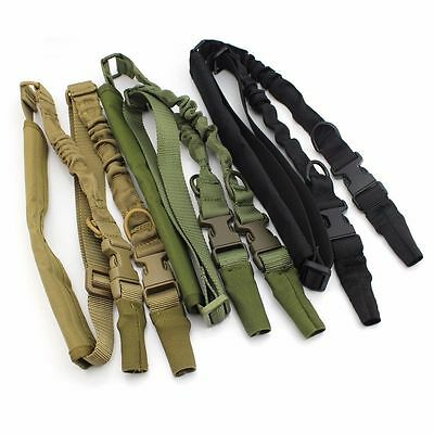 Tactical 2 Points Adjustable Heavy Duty Quick Detach Stealth Rifle Sling