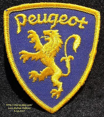 LMH PATCH Badge PEUGEOT Lion Logo Luxury French Sports Car Racing Group PSA 3.5""