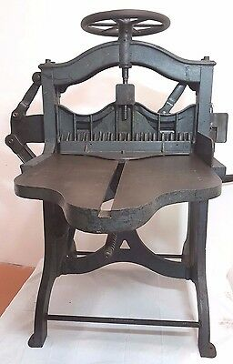 RELIANCE Antique Guillotine  Paper Cutter
