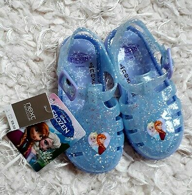 NEXT baby girls size 5 jelly sandals