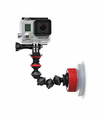 JOBY Suction Cup with GorillaPod Arm for Go-Pros and Action Sports Cameras