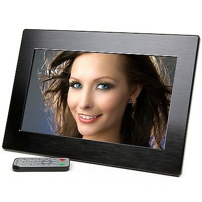 Micca 10-Inch Wide Screen High Resolution Digital Photo Frame with Auto On/Of...