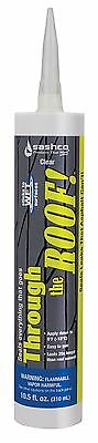 Sashco Through The Roof Sealant 10.5 oz Cartridge Clear (Pack of 1)