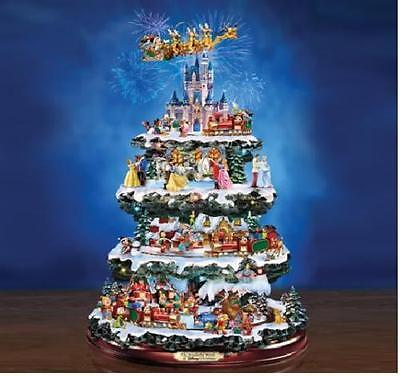 Disney Through the Years Rotating Christmas Tree Hawthorn NEW 50+ Characters