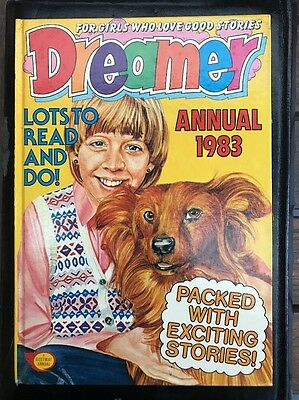 Dreamer annual 1983 Hardcover Rare vintage girl's annual Jinty June Debbie