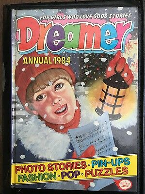Dreamer annual 1984 Hardcover Rare vintage girl's annual Jinty June Debbie