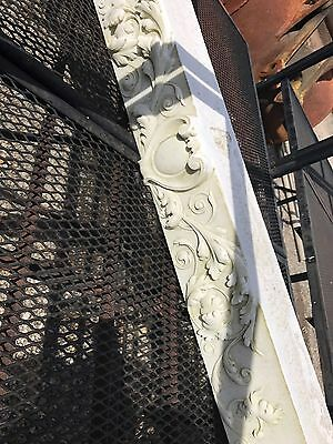 Great Hand Carved Marble Fireplace Mantle