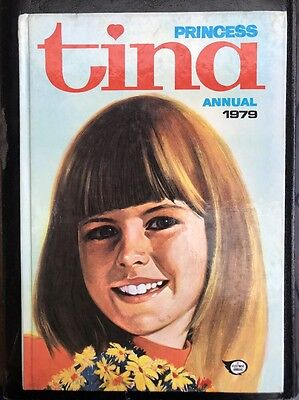 Princess Tina annual 1979 Hardcover Rare vintage girl's annual Jinty June Debbie
