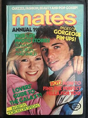 Mates annual 1983 Hardcover Book Rare vintage girl's annual Jinty June Debbie